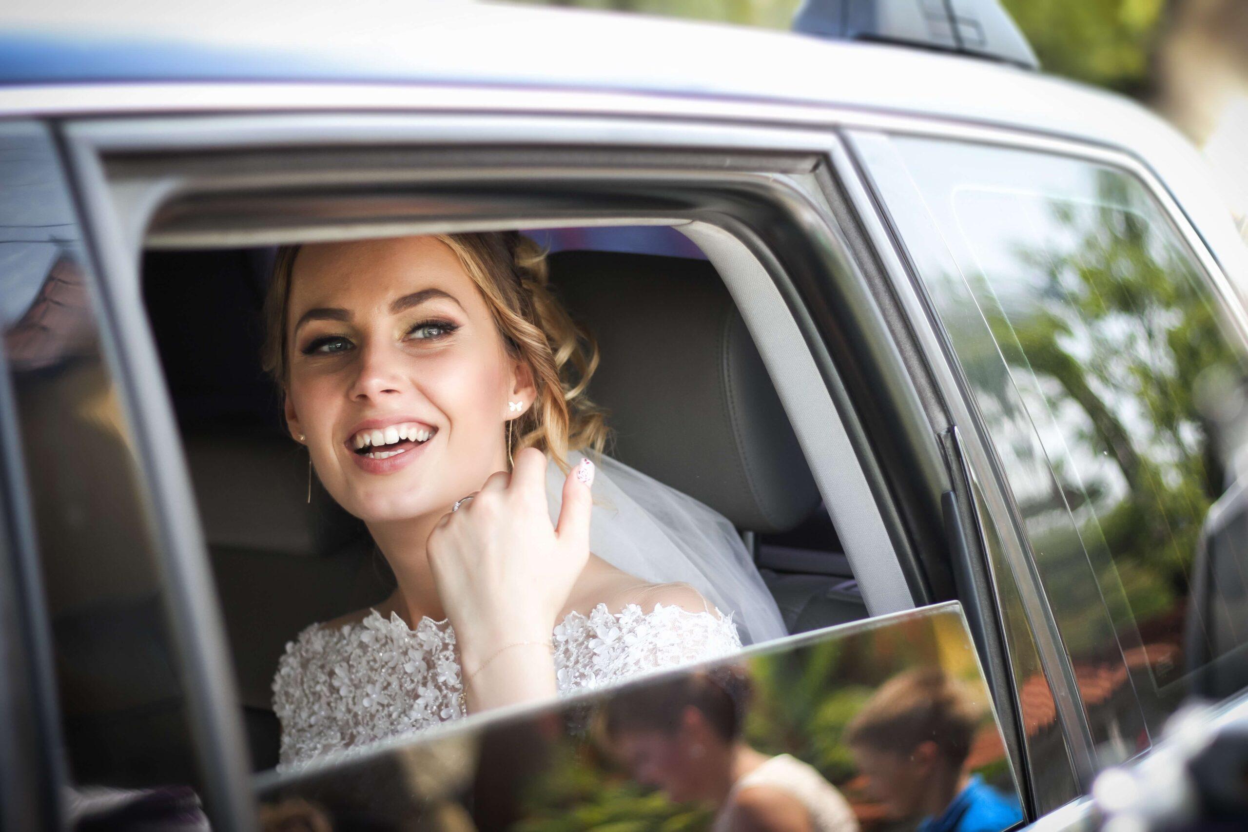 bride with healthy skin